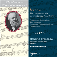 CDA67975 - Gounod: The complete works for pedal piano & orchestra