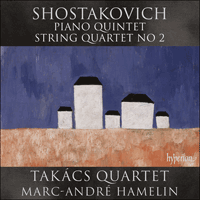 CDA67987 - Shostakovich: Piano Quintet & String Quartet No 2