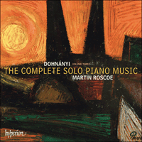 CDA68033 - Dohnányi: The Complete Solo Piano Music, Vol. 3