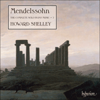 CDA68059 - Mendelssohn: The Complete Solo Piano Music, Vol. 2