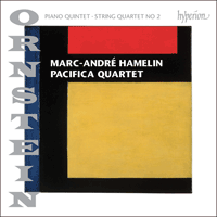 CDA68084 - Ornstein: Piano Quintet & String Quartet No 2