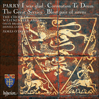 CDA68089 - Parry: I was glad & other choral works