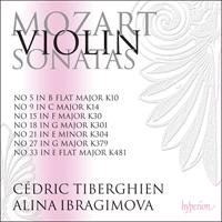 Mozart: Violin Sonatas K301, 304, 379 & 481 - CDA68091 - Wolfgang