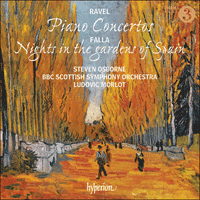 CDA68148 - Ravel: Piano Concertos; Falla: Nights in the gardens of Spain