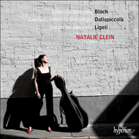 CDA68155 - Bloch, Ligeti & Dallapiccola: Suites for solo cello