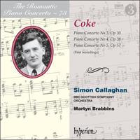 Coke  Piano Concertos Nos 3, 4   5 - CDA68173 - Roger Sacheverell ... 2c9faecf22a4