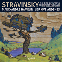 CDA68189 - Stravinsky: The Rite of Spring & other works for two pianos four hands
