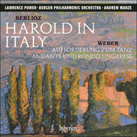 CDA68193 - Berlioz: Harold in Italy & other orchestral works