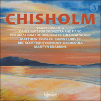 CDA68208 - Chisholm: Violin Concerto & Dance Suite