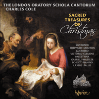 CDA68358 - Sacred treasures of Christmas