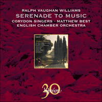 CDA30025 - Vaughan Williams: Serenade to Music, Flos Campi, Mystical Songs