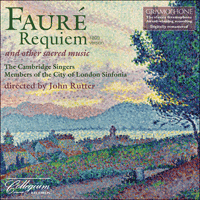 CSCD520 - Fauré: Requiem & other sacred music