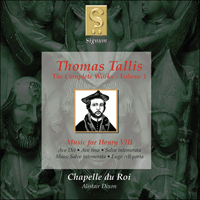 SIGCD001 - Tallis: The Complete Works, Vol. 1