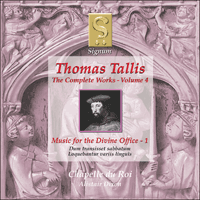 SIGCD010 - Tallis: The Complete Works, Vol. 4