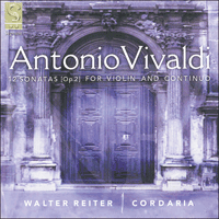 SIGCD014 - Vivaldi: 12 Sonatas for violin and continuo Op 2