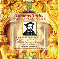SIGCD016 - Tallis: The Complete Works, Vol. 5