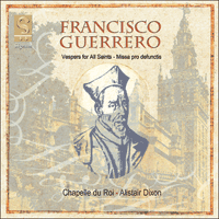 SIGCD017 - Guerrero: Requiem & Vespers for All Saints