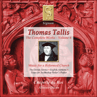 SIGCD022 - Tallis: The Complete Works, Vol. 6