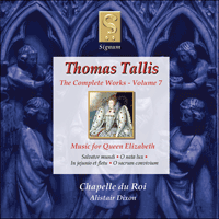 Tallis: The Complete Works, Vol  7 - SIGCD029 - Thomas
