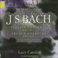 SIGCD030 - Bach: Italian Concerto & French Overture