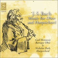 SIGCD034 - Bach: Music for oboe and harpsichord