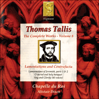 SIGCD036 - Tallis: The Complete Works, Vol. 8