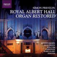 SIGCD084 - Royal Albert Hall Organ Restored