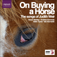 SIGCD087 - Weir: On buying a horse & other songs