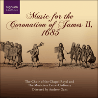 SIGCD094 - Music for the Coronation of James II, 1685
