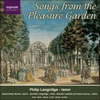 SIGCD101 - Songs from the Pleasure Garden