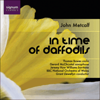 SIGCD103 - Metcalf: In time of daffodils