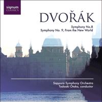 Dvořák: Symphonies Nos 8 & 9 - SIGCD110 - Antonín Dvořák
