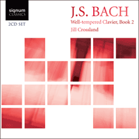 SIGCD123 - Bach: The Well-tempered Clavier Book 2