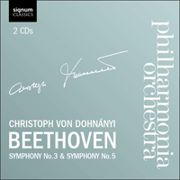SIGCD169 - Beethoven: Symphonies Nos 3 & 5