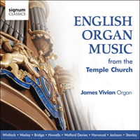 SIGCD223 - English organ music from the Temple Church