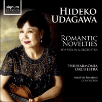 SIGCD224 - Romantic novelties for violin and orchestra