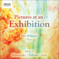 SIGCD226 - Musorgsky: Pictures from an Exhibition; Debussy: Estampes; Liszt: Ave Maria