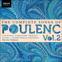 SIGCD263 - Poulenc: The Complete Songs, Vol. 2