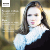 SIGCD399 - Vaughan Williams: The lark ascending; Elgar: Serenade for strings