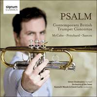 SIGCD403 - Psalm - Contemporary British Trumpet Concertos