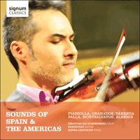 SIGCD405 - Sounds of Spain & the Americas