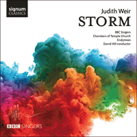 SIGCD421 - Weir: Storm & other choral works