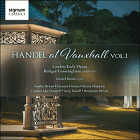 SIGCD428 - Handel: Handel at Vauxhall, Vol. 1