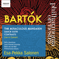 SIGCD466 - Bartók: The Miraculous Mandarin & other works