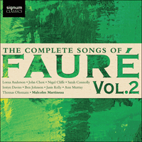 SIGCD472 - Fauré: The Complete Songs, Vol. 2