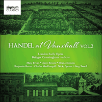 SIGCD479 - Handel: Handel at Vauxhall, Vol. 2
