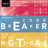 SIGCD495 - McCarthy: Codebreaker; Todd: Ode to a Nightingale