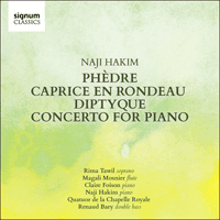 SIGCD498 - Hakim: Phèdre, Caprice, Diptyque & Piano Concerto