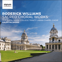 SIGCD517 - Williams: Sacred choral works