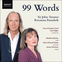 SIGCD519 - Tavener & Panufnik (R): 99 Words & other choral works